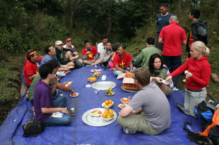 Lunch - Climbing Fansipan – highest peak of Indochina