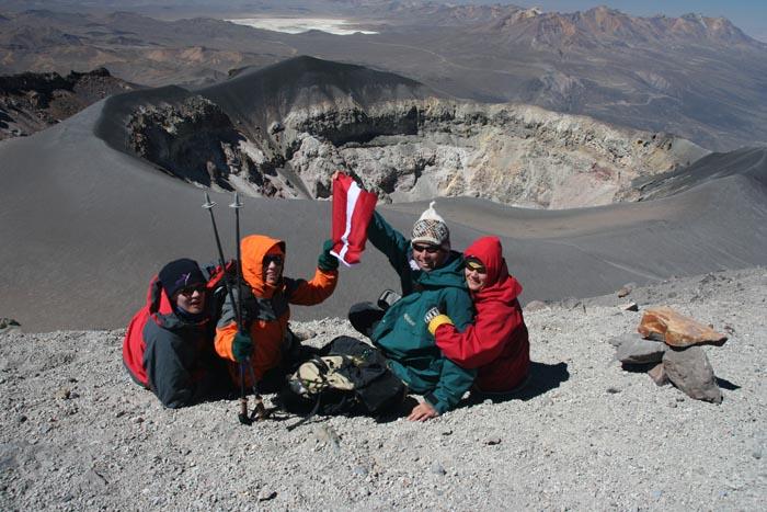 El Misti vulkānā, Peru