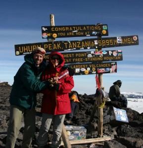 Kilimandžaro virsotnē, Tanzānijā
