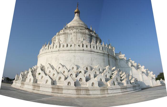 Mingunas Baltas ledijas pagoda 700