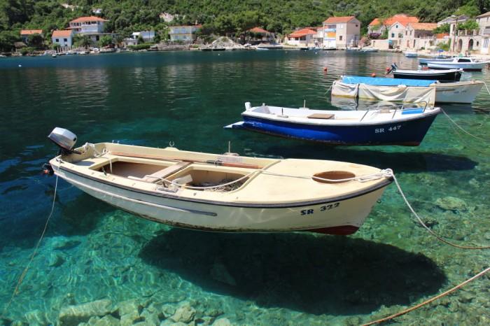 Adrijas jūra pie Dubrovnikas, Horvātija
