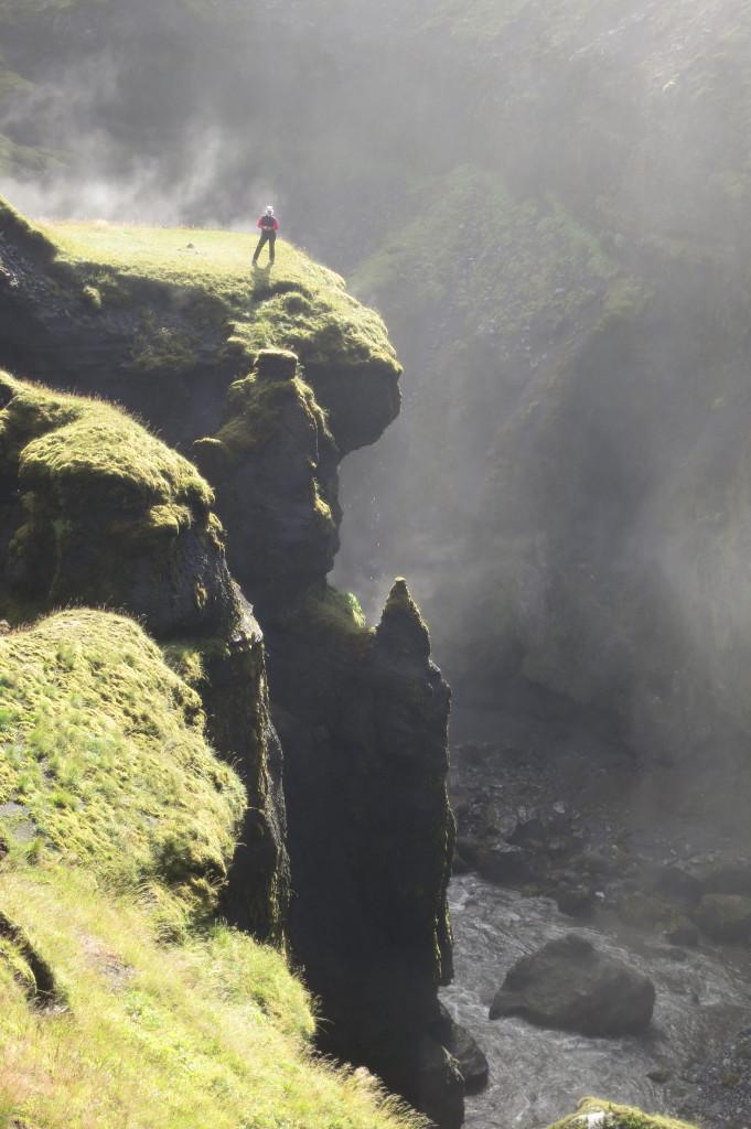 Islandes kanjoni