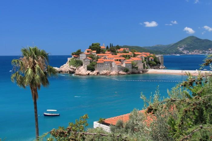 Sveti Stefan saliņa, Melnkalne
