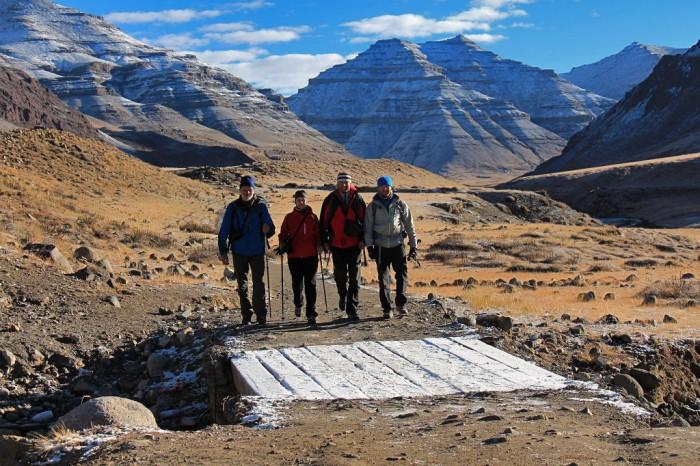 Kailaša koras trešās dienas rīts, Tibeta