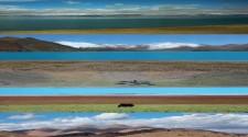 Tibetas sirreālās panorāmas